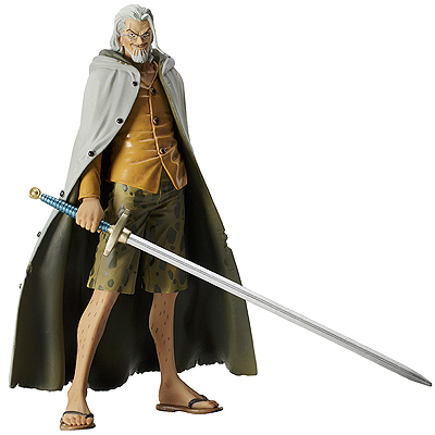 One Piece Styling 3D2Y Figurine Silvers Rayleigh  Bandai