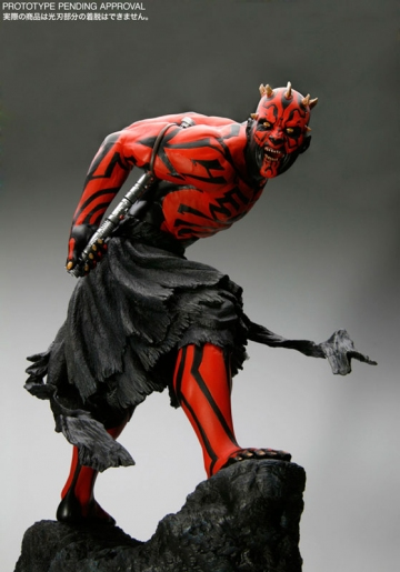 main photo of ARTFX Statue Darth Maul Light Up Ver.
