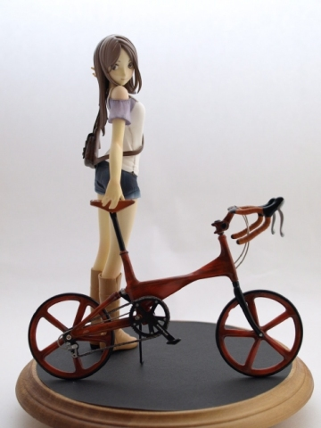 main photo of Bicycle and Girl