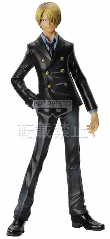 main photo of The Grandline Men DXF Figure Vol.6 Sanji