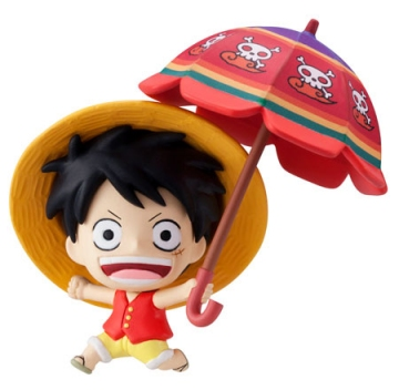 main photo of Petit Chara Land - Sky! Parasol Ver ★ Monkey D. Luffy