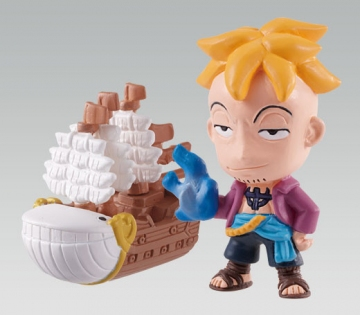 main photo of One Piece W Mascot 3: Marco