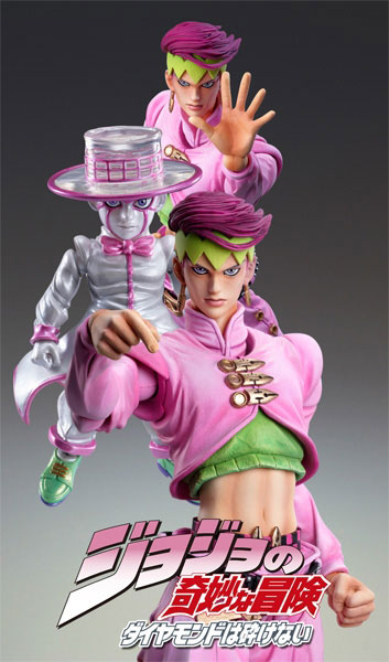main photo of Super Action Statue Rohan Kishibe & Heavens Door Second
