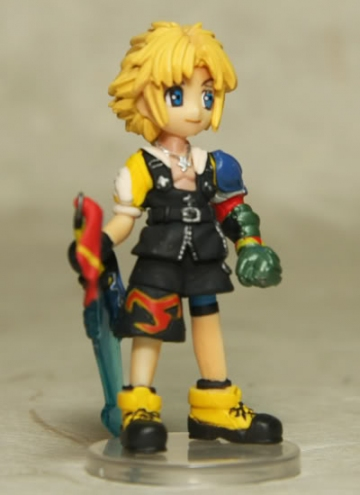 main photo of Final Fantasy Trading Arts Mini Vol.3: Tidus