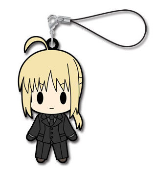 main photo of Fate/Zero Rubber Strap Collection Vol.1: Saber