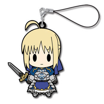 main photo of Fate/Zero Rubber Strap Collection Vol.2: Saber