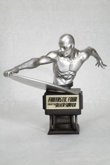 main photo of Movie Fine Art Bust Silver Surfer