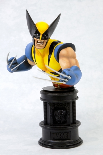 main photo of Fine Art Bust Wolverine Yellow Ver.