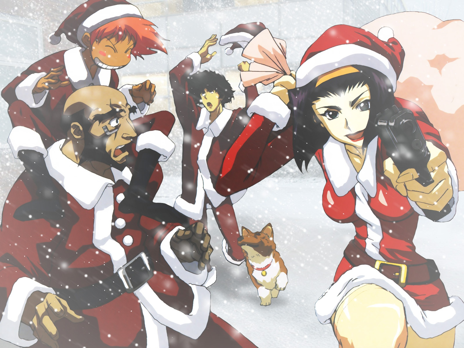 Merry christmas shelfers my anime shelf - Anime merry christmas wallpaper ...