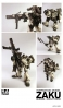 photo of Gundam x Ashley Wood Inspiration Model Zaku