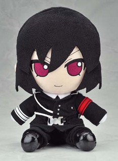 main photo of Nitro+CHiRAL Plush Series 12: Shiki Military Uniform Ver.