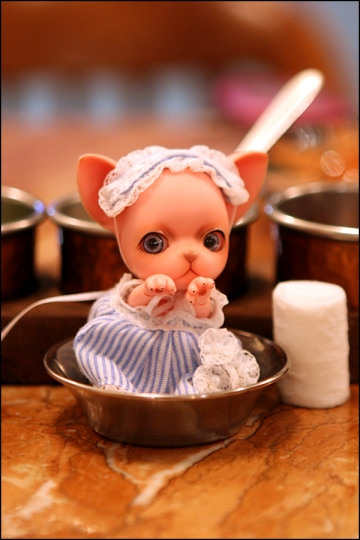 main photo of Ball-jointed Doll Pang-ju: Strawberry Bubble Pang