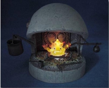 main photo of Image Model Collection XI Calcifer Fireplace