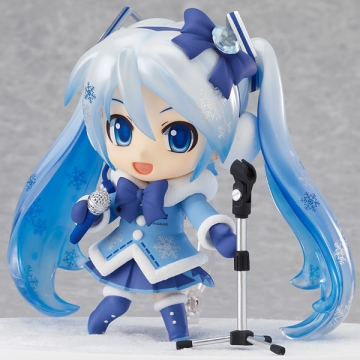 main photo of Nendoroid Snow Miku Fluffy Coat Ver.