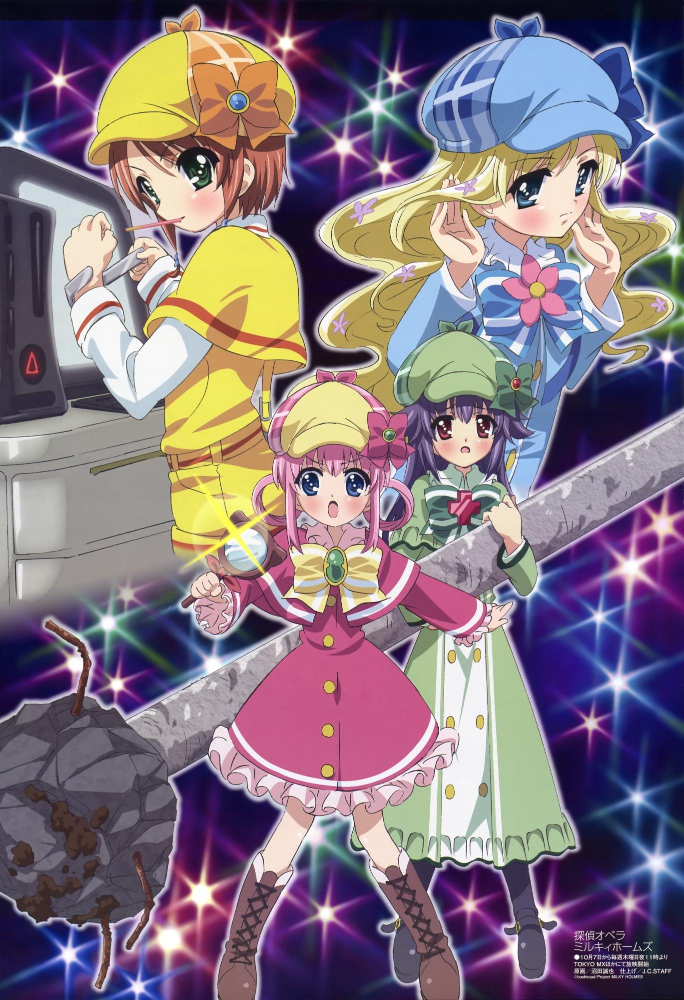 Tantei Opera Milky Holmes wallpapers, Anime, HQ Tantei