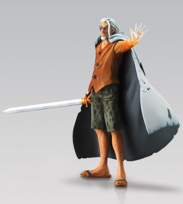 main photo of One Piece Attack Motions Battle of Deep Sea: Silvers Rayleigh