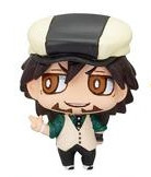 main photo of Chara Fortune Plus Series Tiger & Bunny Hero Fortune! Kaburagi T. Kotetsu