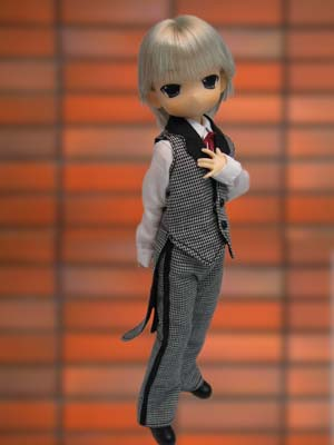 main photo of Mama Chapp: Boys Butler Costume Ver No.2. (Blond hair)