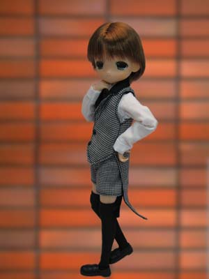 main photo of Mama Chapp: Boys Butler Costume Ver No.2. (Brown hair)