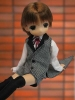 photo of Mama Chapp: Boys Butler Costume Ver No.2. (Brown hair)