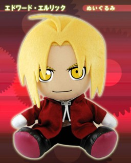 main photo of Movic Fullmetal Alchemist Plushies: Edward Elric Nuigurumi Ver.