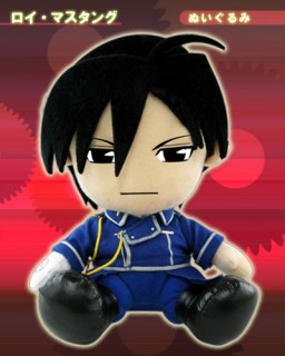 main photo of Movic Fullmetal Alchemist Plushies: Roy Mustang