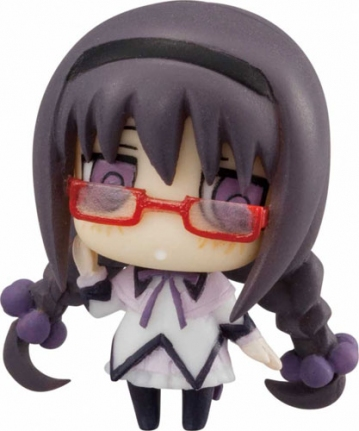 main photo of Cutie Figure Mascot: Homura Akemi (glasses ver.)