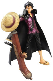 main photo of P.O.P Strong Edition Monkey D. Luffy LAWSON Limited Color