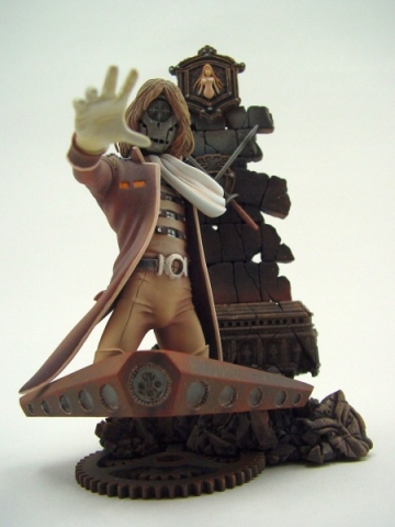 main photo of Neo Super Figure Revolution - Galaxy Express 999: Count Mecha Sepia Ver.