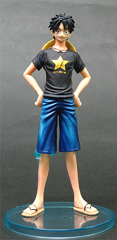 main photo of Super One Piece Styling - Reunited Pirates: Luffy Secret Ver.