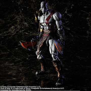 main photo of God of War III Play Arts Kai: Kratos