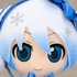 Plush Strap Series: Snow Miku FuwaFuwa Coat Ver.