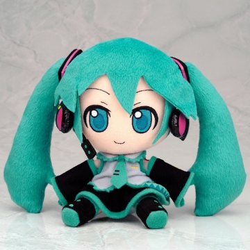main photo of Plush Strap Series: Miku Hatsune