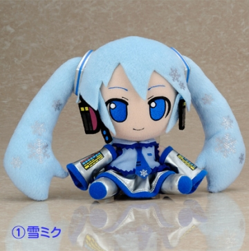 main photo of Plush Strap Series: Snow Miku