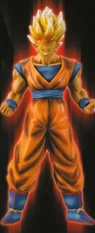 main photo of High Spec Coloring Figure: Son Gohan