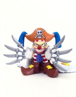 main photo of One Piece Motion Figure: Buggy the Clown