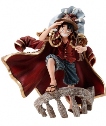 main photo of Figure Colosseum SCultures Zoukeiou Chojho Kessen vol.2 Monkey D. Luffy