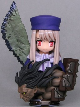 main photo of Fate/stay night Bust Collection: Illyasviel von Einzbern and Berserker Comptiq extra Ver.