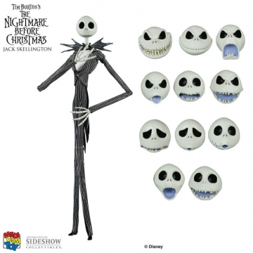 main photo of Miracle Action Figure DX Jack Skellington