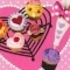 Petit Sample Series Heart-shaped Pastry: Decoration Cupcake
