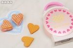 photo of Petit Sample Series Heart-shaped Pastry: Waffle Party