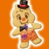Disney Halloween Cookie Mascot: Dale