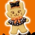 Disney Halloween Cookie Mascot: Marie