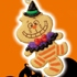 Disney Halloween Cookie Mascot: Cheshire Cat