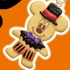 Disney Halloween Cookie Mascot: Mickey Mouse