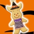 Disney Halloween Cookie Mascot: Piglet