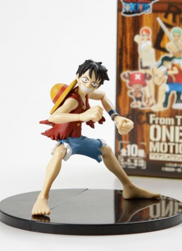 main photo of One Piece Motion Figure: Monkey D. Luffy