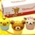 Rilakkuma Warm and Fluffy Meals - Cupcakes for Sharing (With Friends)