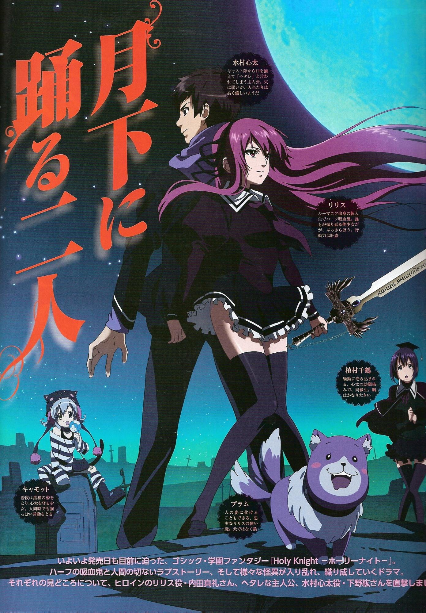 Holy Knight Manga