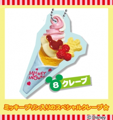 main photo of Disney Food Mascot: Crepe